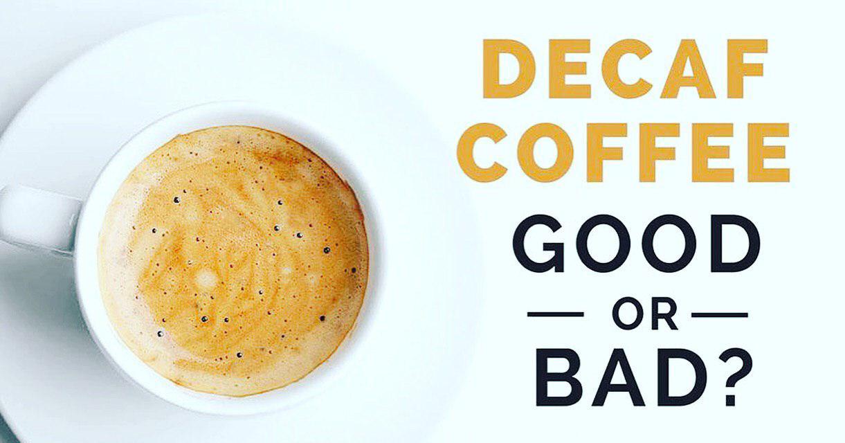 قهوه بدون کافئین خوب است یا بد؟؟